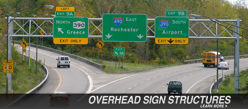 Overhead Sign Structures